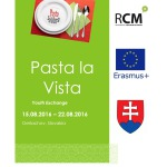 PASTA LA VISTA – youth exchange in Slovakia